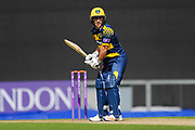 Andrew Salter of Glamorgan batting during the Royal London One Day Cup match between Hampshire County Cricket Club and Glamorgan County Cricket Club at the Ageas Bowl, Southampton, United Kingdom on 12 May 2017. Photo by David Vokes.