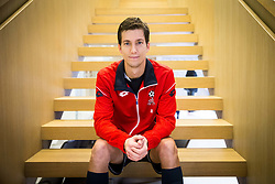 Aljaz Bedene of Slovenia after the friendly football match between NK Fantazisti (SLO) and 1st TFC - First Tennis & Football Club (AUT) presented by professional and former tennis players, on November 25, 2017 in Nacionalni nogometni center Brdo pri Kranju, Slovenia. Photo by Vid Ponikvar / Sportida