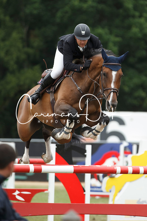 Paterson Robinson James (AUS) - Athene <br /> Grand Prix Meritt Capital<br /> Jumping Kapellen 2015<br /> &copy; Hippo Foto - Dirk Caremans<br /> 12/07/15