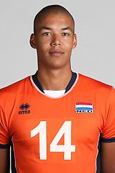 20160516 NED: Selectie Nederlands volleybal team mannen, Arnhem<br />Nimir Abdelaziz