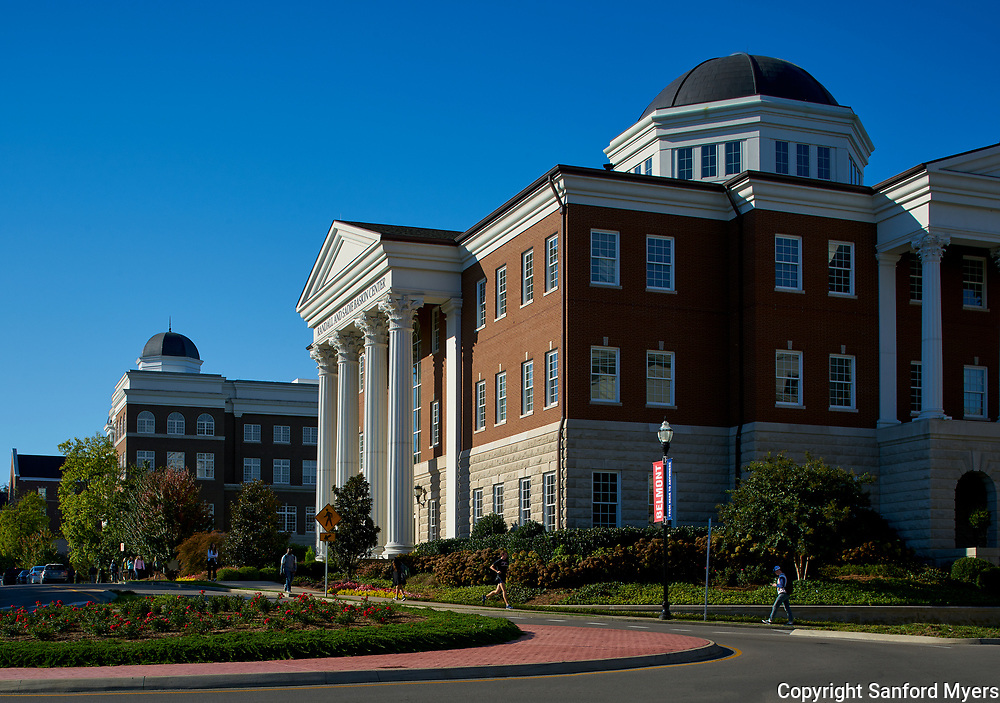 The Belmont University campus photographed by architectural photographer Sanford Myers.