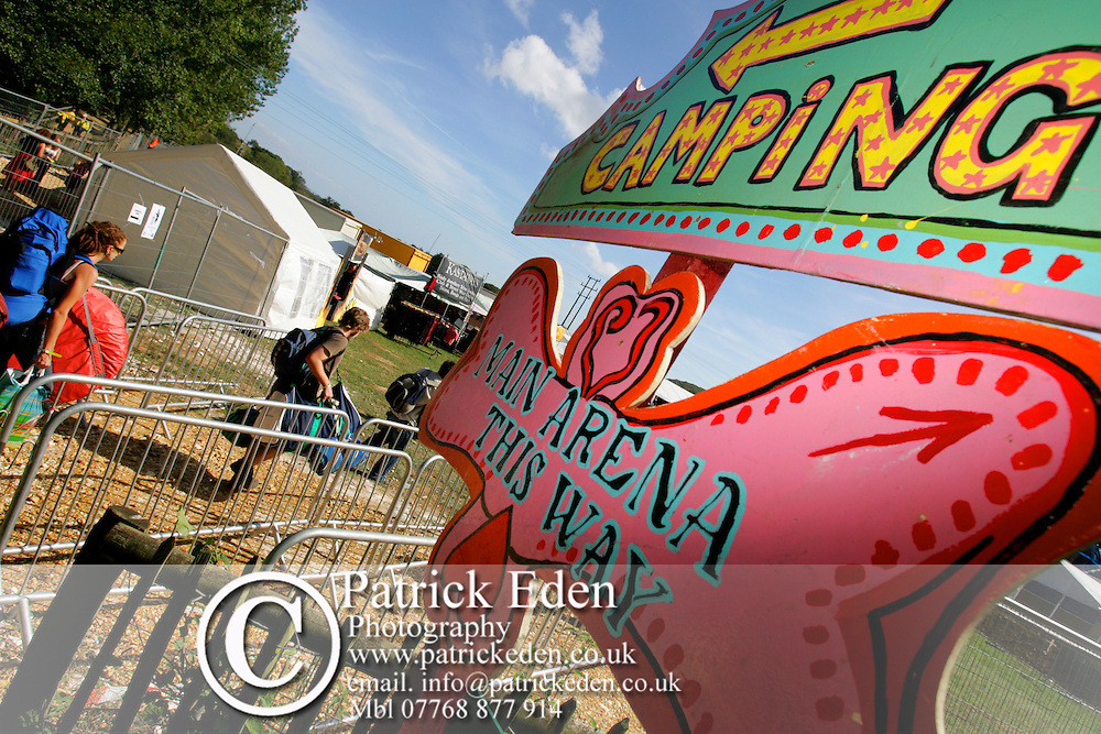 Bestival signs Photographs of the Isle of Wight by photographer Patrick Eden photography photograph canvas canvases