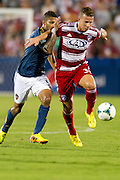 FRISCO, TX - AUGUST 11:  Michel #31 of FC Dallas controls the ball against the Los Angeles Galaxy on August 11, 2013 at FC Dallas Stadium in Frisco, Texas.  (Photo by Cooper Neill/Getty Images) *** Local Caption *** Michel