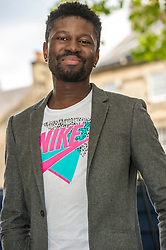 Pictured: Michael Donkor<br /> <br /> <br /> <br /> Donkor was born in London to a Ghanaian household. He completed his bachelor's degree in English at Wadham College, Oxford, as well as a Master's in Creative Writing at University of London. At the University of Oxford he was one of only 21 black students in his year. At the University of London he was supervised by Andrew Motion.<br /> <br /> Ger Harley   EEm 11 August 2018