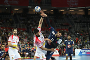 Nikola Karabatic (France) during the EHF 2018 Men's European Championship, 1/2 final Handball match between France and Spain on January 26, 2018 at the Arena in Zagreb, Croatia - Photo Laurent Lairys / ProSportsImages / DPPI