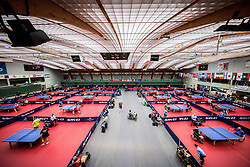 Arena Tri Lilije at 15th Slovenia Open - Thermana Lasko 2018 Table Tennis for the Disabled, on May 9, 2018, in Dvorana Tri Lilije, Lasko, Slovenia. Photo by Vid Ponikvar / Sportida
