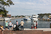 "Annapolis, Maryland - June 05, 2016: People congregate at the Kunta Kinte-Alex Haley Memorial park in the touristy City Dock park area of historic Annapolis Sunday June 5th, 2016.  Earlier that day a perigean spring tide brought some of the highest water levels of the year to the coastal town and partially flooded the park.<br /> <br /> <br /> A perigean spring tide brings nuisance flooding to Annapolis, Md. These phenomena -- colloquially know as a ""King Tides"" -- happen three to four times a year and create the highest tides for coastal areas, except when storms aren't a factor. Annapolis is extremely susceptible to nuisance flooding anyway, but the amount of nuisance flooding has skyrocketed in the last ten years. Scientists point to climate change for this uptick. <br /> <br /> <br /> CREDIT: Matt Roth for The New York Times<br /> Assignment ID: 30191272A"