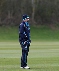 Somerset's Director of Cricket Matt Maynard  - Photo mandatory by-line: Harry Trump/JMP - Mobile: 07966 386802 - 23/03/15 - SPORT - CRICKET - Pre Season Fixture - Day 1 - Somerset v Glamorgan - Taunton Vale Cricket Club, Somerset, England.