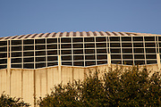 The Houston Astrodome.