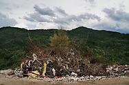 Pescara del Tronto, Italia - Danni creati dal terremoto a Pescara del Tronto. Il paese non esiste pi&ugrave;.<br /> Ph. Roberto Salomone