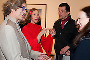 WIM WENDERS; DONATE WENDERS; ANTONY GORMLEY; BETTINA VON HASE, Places Strange and quiet. Exhibition of photos by Wim Wenders. Haunch of Venison. 14 April 2011.  -DO NOT ARCHIVE-© Copyright Photograph by Dafydd Jones. 248 Clapham Rd. London SW9 0PZ. Tel 0207 820 0771. www.dafjones.com.