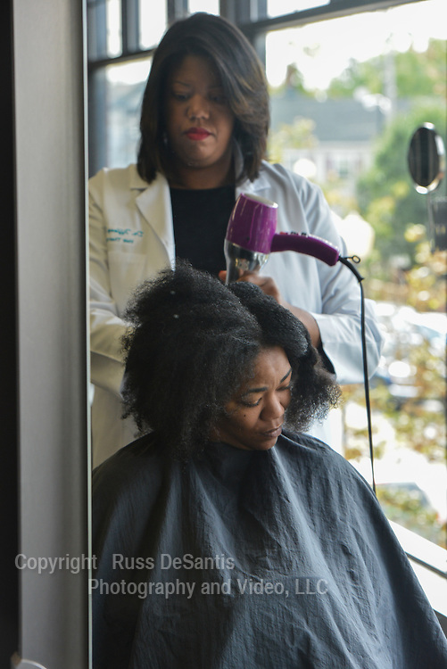 Photos takaen at Posh Hair Therapy Salon in Freehold, NJ, on Thursday, October, 9, 2014. / Russ DeSantis Photography and Video, LLC