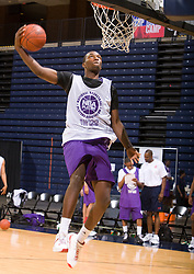 WF Jordan Hamilton (Compton, CA / Dominguez).  The NBA Player's Association held their annual Top 100 basketball camp at the John Paul Jones Arena on the Grounds of the University of Virginia in Charlottesville, VA on June 20, 2008