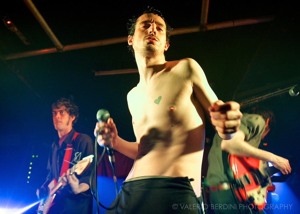 The Fat White Family live at the Electrowerkz in Islington, London on 25 February 2014<br />