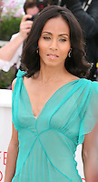 Actress Jada Pinkett Smith, at the Madagascar 3: Europe's Most Wanted photocall at the 65th Cannes Film Festival. Friday 18th May 2012 in Cannes Film Festival, France.