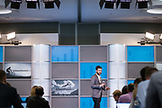 Cisco Systems, Inc. hosts their Software Summit 2018 at Cisco in San Jose, California, on February 27, 2018. (Stan Olszewski/SOSKIphoto for Doug Cody)