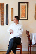 Alloro Restaurant, a fine dining restaurant located in Old Town Bandon, Oregon. Chef Jeremy Buck