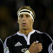Richard Haddon, New Zealand,  during the Australia V New Zealand Final match at the IRB Junior World Championships in Argentina. New Zealand won the match 62-17 at Estadio El Coloso del Parque, Rosario, Argentina,. 21st June 2010. Photo Tim Clayton...