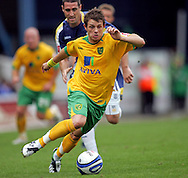 Cardiff - Saturday August 23rd, 2008: Jamie Cureton of Norwich City during the Coca Cola Championship match at The Ninian Park, Cardiff. (Pic by Paul Hollands/Focus Images)