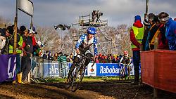 Zach MCDONALD (18,USA) 2nd lap at Men UCI CX World Championships - Hoogerheide, The Netherlands - 2nd February 2014 - Photo by Pim Nijland / Peloton Photos