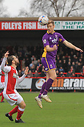 Jared Hodgkiss and Kyle Storer during the Vanarama National League match between Kidderminster Harriers and Cheltenham Town at Aggborough, Kidderminster, United Kingdom on 26 December 2015. Photo by Antony Thompson.