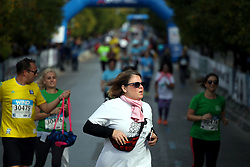 November 12, 2017 - Athens, Attica, Greece - Runners participating at the 35th Athens Classic Marathon in Athens, Greece, November 12, 2017. (Credit Image: © Giorgos Georgiou/NurPhoto via ZUMA Press)