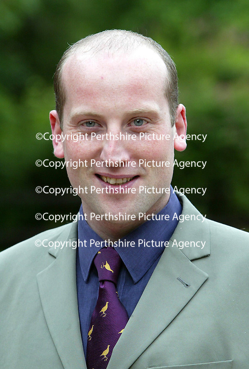 Richard Prendville, Duty Manager at The Famous Grouse Experience.<br /><br />Picture by Graeme Hart.<br />Copyright Perthshire Picture Agency<br />Tel: 01738 623350  Mobile: 07990 594431
