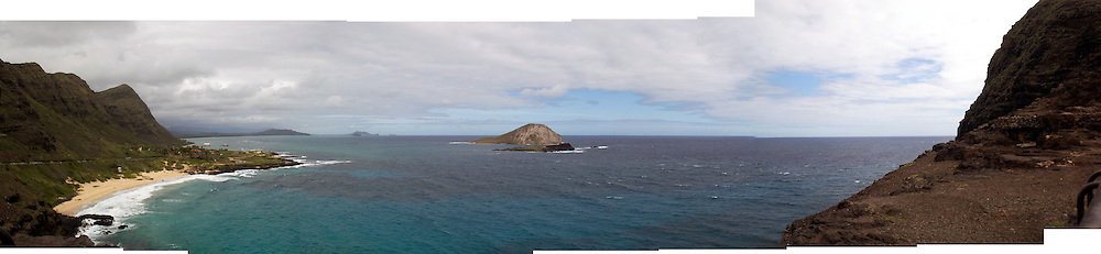 Multi-image panorama from Hawaii