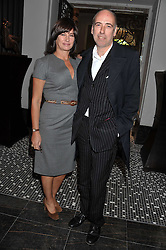 MICK & MIRANDA JONES at the launch of Stephen Webster Bijoux Tea held at the Langham Hotel, Portland Place, London on 13th September 2011.