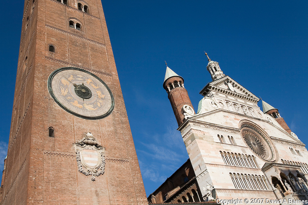Duomo (cathedral), Cremona, Lombardy Italy