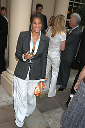 Artist TRACEY EMIN at the Tatler Summer Party in association with Moschino at Home House, 20 Portman Square, London W1 on 29th June 2005.<br />
