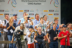 Buchman Jacky, Verlooy Axel, Verlooy Nena, Philippaerts Ludo, Philippaerts Veronique, Philippaerts Thibault<br /> S8 Mercedes-Benz Nations Cup<br /> Weltfest des Pferdesports CHIO Aachen 2014<br /> © Dirk Caremans