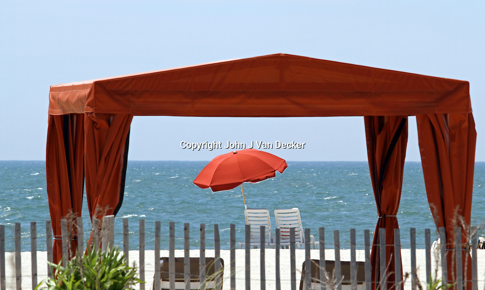 Cape May, New Jersey, Beach Cabanas