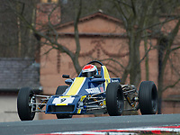 #9 Joshua MASON Crossle 32F  during Avon Tyres Formula Ford 1600 Northern Championship - Pre 90 as part of the BRSCC Oulton Park Season Opener at Oulton Park, Little Budworth, Cheshire, United Kingdom. March 24 2018. World Copyright Peter Taylor/PSP.