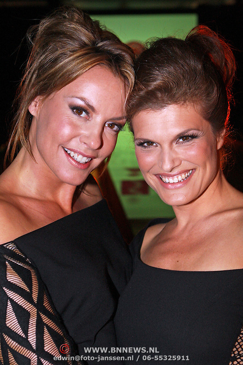 NLD/Amsterdam/20070922 - Modeshow Sheila de Vries najaar 2007, Mickey Hoogendijk en Anouk van Nes