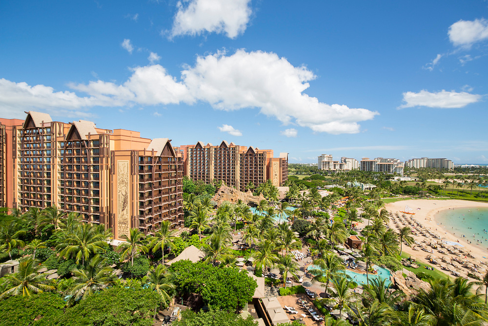 Disney Aulani Resort, Koolina, Oahu, Hawaii