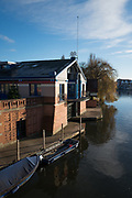 Henley, Oxfordshire. England General Views Henley Town  [Henley Royal Regatta headquarters building] Thursday  01/12/2016<br /> © Peter SPURRIER<br /> LEICA CAMERA AG  LEICA Q (Typ 116)  f1.7  1/5000sec  35mm  11.7MB