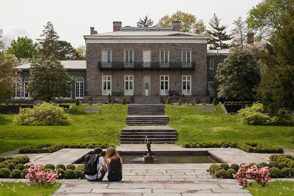 Historic Bartow Pell Mansion. Pelham Bay Park, The Bronx.