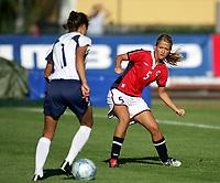 Fotball, 26. juli 2005, U21 damer, Åpent nordisk mesterskap, finale, Norge- USA 1-4,  Janne Stange, Norge