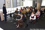 RECYC-QUÉBEC organise une activité inaugurale pour faire connaître à ses voisins sa présence dans les locaux de l'UQAM UQAM / Montreal / Canada / 2008-11-07, © Photo Marc Gibert / adecom.ca