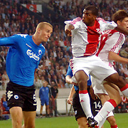 NLD/Amsterdam/20060823 - Ajax - FC Kopenhagen, Ryan Babel, Klaas Jan huntelaar