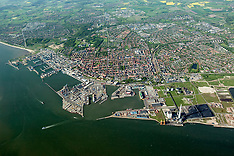 18.05.2004 Luftfotos over Esbjerg