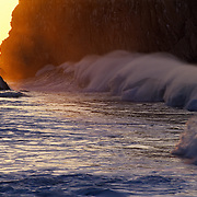 Wave crashing..Cabo San Lucas, BCS..Mexico