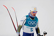 PYEONGCHANG-GUN, SOUTH KOREA - FEBRUARY 13: Teodor Peterson of Sweden during the Mens Individual Sprint Classic Finals on day four of the PyeongChang 2018 Winter Olympic Games at Alpensia Cross-Country Skiing Centre on February 13, 2018 in Pyeongchang-gun, South Korea. Photo by Nils Petter Nilsson/Ombrello               ***BETALBILD***