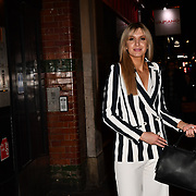 Victoria Brown attend TMA Talent Management Group host launch party for their new dating app, The List at 100 Wardour Street  on 3rd April 2019, London, UK.