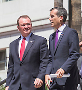LA Mayor Eric Garcetti endorses Jim McDonnell for LA County Sheriff