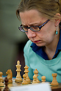 Joanna Dworakowska from Poland during European Team Chess Championships 2013 at Novotel Hotel in Warsaw on November 10, 2013.<br /> <br /> Poland, Warsaw, November 10, 2013<br /> <br /> Picture also available in RAW (NEF) or TIFF format on special request.<br /> <br /> For editorial use only. Any commercial or promotional use requires permission.<br /> <br /> Mandatory credit:<br /> Photo by © Adam Nurkiewicz / Mediasport