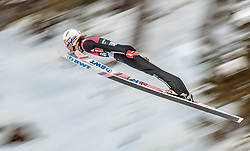 15.03.2018, Granasen, Trondheim, NOR, FIS Weltcup Ski Sprung, Raw Air, Trondheim, im Bild Daniel Andre Tande (NOR) // Daniel Andre Tande of Norway during the 3rd Stage of the Raw Air Series of FIS Ski Jumping World Cup at the Granasen in Trondheim, Norway on 2018/03/15. EXPA Pictures © 2018, PhotoCredit: EXPA/ JFK