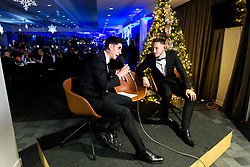 Callum O'Dowda and Josh Brownhill look on as Bristol Sport hosts their annual Gala Dinner at Ashton Gate Stadium - Rogan/JMP - 05/12/2018 - SPORT - Ashton Gate Stadium - Bristol, England - Bristol Sport Gala Dinner 2018.