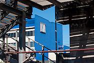 Taranto, 21/09/2012: Acciaieria ILVA - ILVA steel factory.<br /> &copy;Andrea Sabbadini